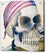 The Rider's Skull Acrylic Print