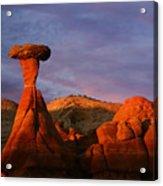 The Rim Rocks Acrylic Print