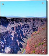 The Rio Grande Gorge Acrylic Print
