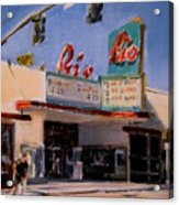 The Rio Theater Acrylic Print