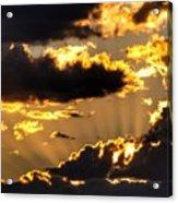 The Rising Of The Setting Sun Acrylic Print