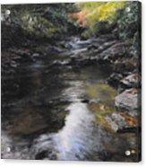 The River At Lady Bagots Acrylic Print