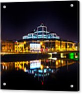 The River Liffey Reflections 2 Acrylic Print