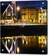 The River Liffey Reflections Acrylic Print