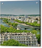 The River Of Paris Acrylic Print