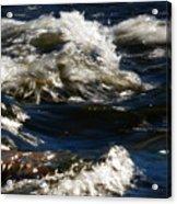 The River Rush Acrylic Print