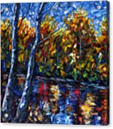 The River Song  Acrylic Print