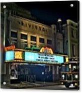 The Riveria Theater Acrylic Print