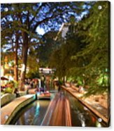 The Riverwalk Acrylic Print