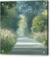 The Road Back Home Acrylic Print