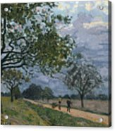 The Road From Versailles To Louveciennes Acrylic Print