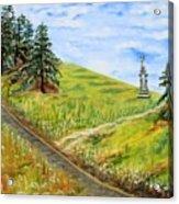 The Road Less Traveled Acrylic Print