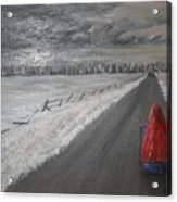 The Road That Must Be Traveled Acrylic Print