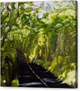The Road Through Glenastar Acrylic Print