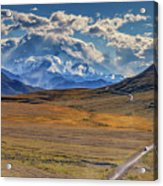 The Road To Denali Acrylic Print