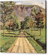 The Road To Evordes Acrylic Print