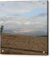 The Road To Galilee Acrylic Print