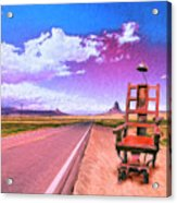 The Road To Perdition Acrylic Print