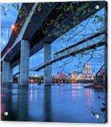 The Robert E Lee Bridge Acrylic Print