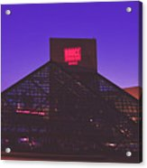 The Rock And Roll Hall Of Fame Acrylic Print