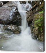 the Rock Falls Acrylic Print