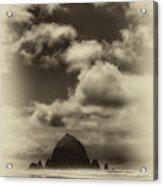 The Rock Of Paradise Acrylic Print