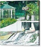 The Rockford Dam Acrylic Print