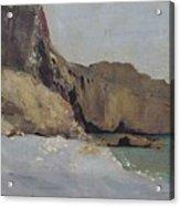 The Rocks At Vallieres Acrylic Print
