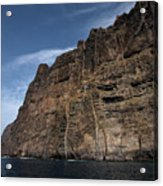The Rocks Of Los Gigantes 1 Acrylic Print