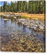 The Rocks Of Rock Creek Acrylic Print