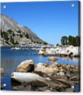 The Rocks Of Treasure Lake Acrylic Print