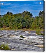 The Rocky Limestone Trail  Acrylic Print