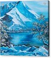 The Rocky Mountains  Acrylic Print