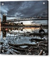 The Roebling Gotham Style Acrylic Print