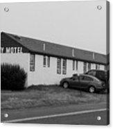 The Rolling Stones' Memory Motel Montauk New York Acrylic Print