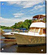 The Rondout At Eddyville Acrylic Print