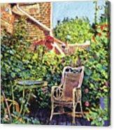 The Roof Garden Acrylic Print by David Lloyd Glover