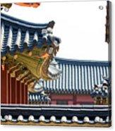 The Roofs Of Suwon Acrylic Print