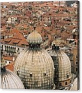 The Roofs Of Venice Acrylic Print