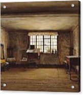 The Room In Which Shakespeare Was Born Acrylic Print
