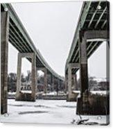The Roosevelt Expressway Bridges Acrylic Print