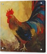 The Rooster II  Acrylic Print
