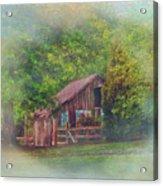 The Rose Barn Acrylic Print