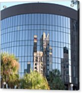 The Round Building In Orlando Acrylic Print