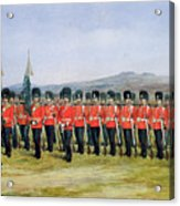 The Royal Fusiliers Acrylic Print