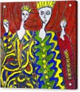 The Royal Sisters Acrylic Print