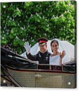 The Royal Wedding Harry Meghan Acrylic Print