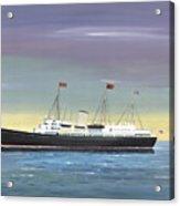 The Royal Yacht Britannia Acrylic Print