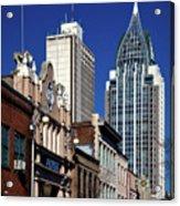 The Rsa Tower - Mobile Alabama Acrylic Print
