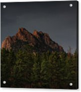 The Rugged Beauty Of Long Scraggy Acrylic Print